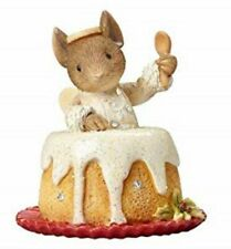 Heart Of Christmas Mice By Karen Hahn - Mouse In Angel Food Cake - Ornament