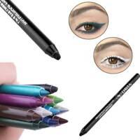 2Pcs Makeup Waterproof Long-lasting Eye Liner Pencil Pigment  Cosmetics Tools