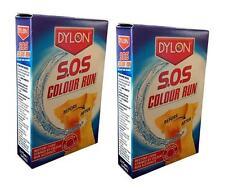 DYLON SOS COLOUR RUN REMOVER RESTORE COLOUR RUNS (2 Packs)