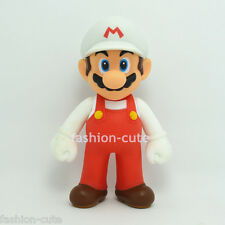 New Super Mario Brothers Bros. Mario Action Figures White Red 4.7 inch 12CM