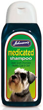 MEDICATED SHAMPOO - 200ml Johnsons Dog Scurf Care bp Pet Clean Wash