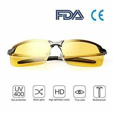 Night Vision Driving Glasses HD Polarized Sunglasses UV400 Outdoor Eyewear