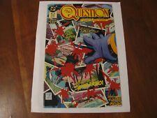 """November 1987 """"The Question"""" No. 10 DC Comics"""