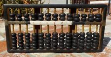 VINTAGE CHINESE WOOD & BRASS ABACUS  HAND MADE IN CHINA WITH FREE SHIPPING