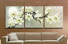 MODERN ABSTRACT HUGE WALL ART OIL PAINTING ON CANVAS:flower(no framed)