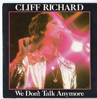 "Cliff Richard - We Don't Talk Anymore 7"" Single 1979"