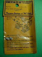 Cooper Craft Plastic Kits #2008 Signal Box Nameplates and Letters Oo Gauge 1:76