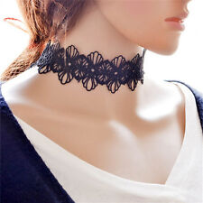 Lace Retro Tattoo Choker Boho Neck Dress Vintage Gothic Necklace Chain JewelryLC