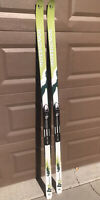 Rossignol BC Cross Country Skis Back country 70 Touring 190 cm and NNN bindings