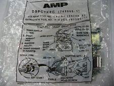 AMP D9PCTKPC 749805-1 Shielded crimp snap kits 9 pin sub D male lot of 5