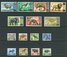 KENYA  ANIMALS  SCOTT#20/35   MINT NH--SCOTT VALUE $29.05