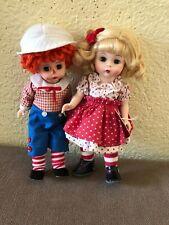 New Listing Vintage Madame Alexander Loves Raggedy Ann Andy Dolls