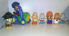 Fisher Price Little People toy lot of 7 figures and 1 vehicle Car Boy Girl