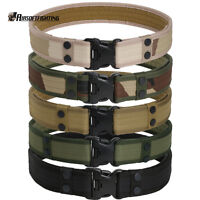 "Camping Outdoor 2"" Tactical Combat Gear Utility Padded Nylon Duty Belt Hunting"