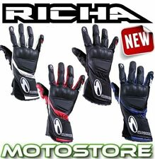 Richa Knuckles Leather Motorcycle Gloves