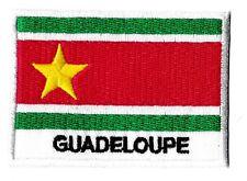 Patche drapeau Guadeloupe libre insigne écusson patch 70x45mm