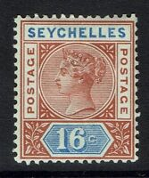Seychelles SG# 14 - Mint Hinged (Hinge Rem) - 082816