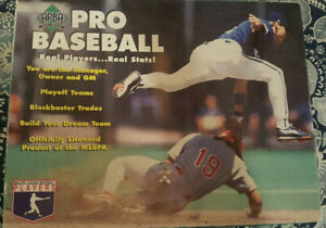 1998 APBA baseball game components two boards scorecards sheets