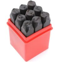 Stamps Numbers Set Punch Steel Metal Tool Case Craft Hot 2.5mm B8S2)