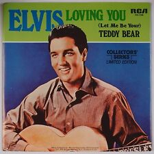 ELVIS PRESLEY: Loving You / Teddy Bear RCA 45 PB-11109 w/ PS Super NM-