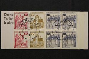 Berlin, MiNr. MH 10 a II, gestempelt - 649431