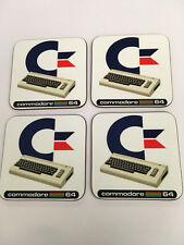 Commodore 64 Home Computer enthusiast COASTER SET