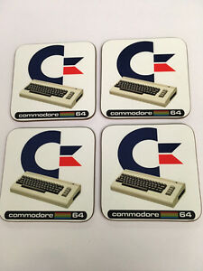 Commodore 64 Home Computer enthusiast COASTER SET