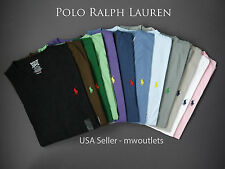 Polo Ralph Lauren MENS V-NECK CLASSIC FIT T-SHIRT Short Sleeve Pony Tee