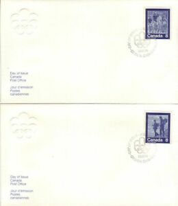 Canada - Pre-Olympics Issue, Montreal (Issue 2) (4no. CPC FDC's) 1974