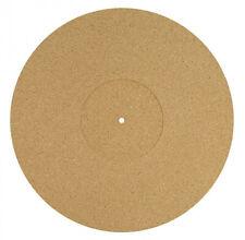 DYNAVOX Plattentellerauflage PM3 aus Kork zur Klang-Optimierung für Vinyl-Player