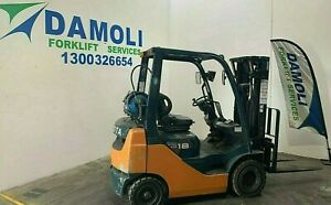 Container Mast Toyota 1.8 Tonne LPG Forklift - Fully serviced, and ready to go!