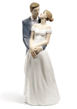 Nao By Lladro Unforgettable Day #1713 Bnib Wedding Bride & Groom Save$ F/Sh