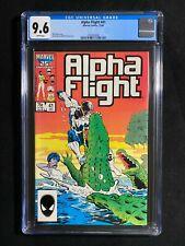 Alpha Flight #41 CGC 9.6 (1986)