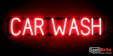 SpellBrite Ultra-Bright CAR WASH Sign Neon look LED performance