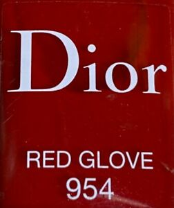 Dior nail polish 954 RED GLOVE limited edition