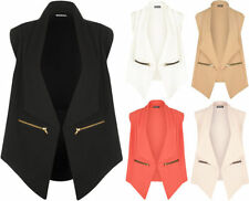 Business Regular Size Waistcoats for Women without Fastening