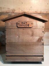 Hand Made 2 Chamber Large Bat House Cedar Wood House