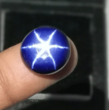 100% Natural 6 Rays Blue Star Sapphire 4.75 Cts Oval Shape Certified Gemstone