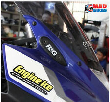 R&G Racing Pair of Mirror Blanking Plates For The Yamaha YZF-R125 Yamaha YZF-R3