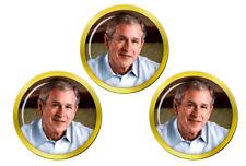 Le président George W. Bush Balle de Golf Marqueurs
