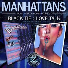 Manhattans - Black Tie / Love Talk [CD]