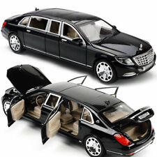 Kids Toys 1:24 Mercedes Maybach S600  Diecast Metal Model Car Kids Cars Gift