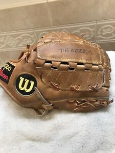 "Wilson A2000 L 11.5"" Youth Pitchers Baseball Softball Glove Right Hand Throw"