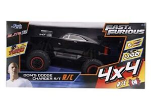 Jada Toys Fast & Furious Elite 4x4 RC 1970 Dodge Charger R/T Remote Control 1:12