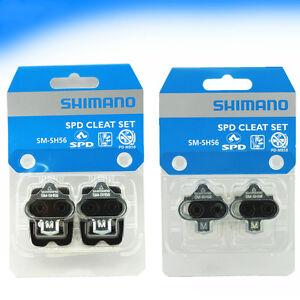 Shimano SM-SH56 SH51 SPD MTB Mountain Bike Bicycle Pedal Cleat Set Cleat Nut