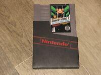 Donkey Kong 3 Near Mint Condition Nintendo Nes Authentic