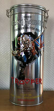 IRON MAIDEN Trooper Beer + Glass in Metal Box - Bottle FULL and NEW