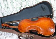 Interesting Old Italian Joseph Nadotti Labeled Violin 4/4 w/ Good Bow See Video!