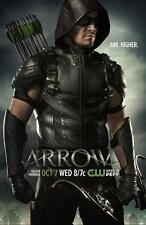"Green Arrow Oliver Queen TV Series Silk Poster 11""x17"" Season 4"