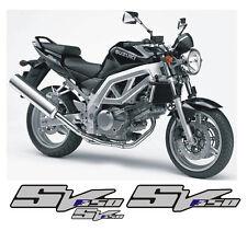 Suzuki SV 650 K3 Argento/Blu parziale - adesivi/adhesives/stickers/decal